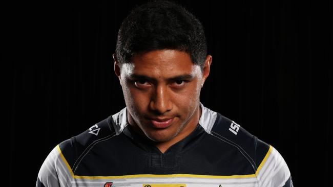 Jason Taumalolo has emerged from being the strong, silent type to become a vocal leader at the Cowboys. Photo: Brett Costello
