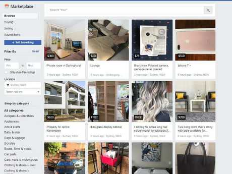 Mr Davis said the rise of sites like Facebook Marketplace has hurt their donation statistics.