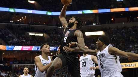 Los Angeles Clippers center DeAndre Jordan.