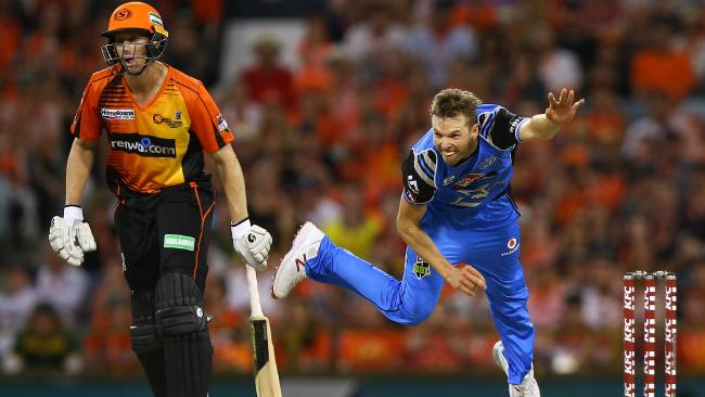 Ben Laughlin has the most wickets in BBL history.