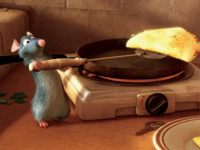 Remy from the animated film Ratatouille is another rat that enjoys a more human exisence. Picture: Supplied