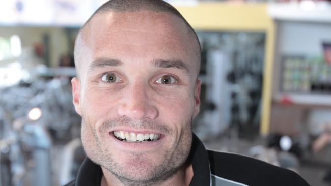 Personal trainer Jason Nielsen.