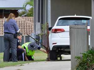 Girl run over in driveway