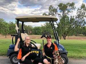 A hole-in-one for CQ Pet Rescue