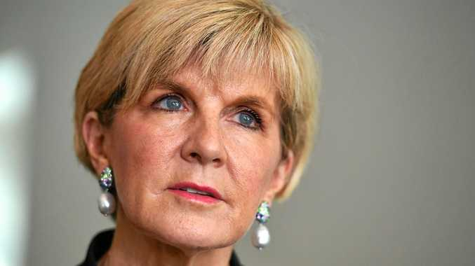 Minister for Foreign Affairs Julie Bishop. (AAP Image/Mick Tsikas)
