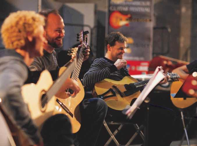 IN SYNC: Sharing your skills and passion with a group of like-minded musicians in an ensemble is just one of the music education pathways offered by the Coffs Harbour Regional Conservatorium.