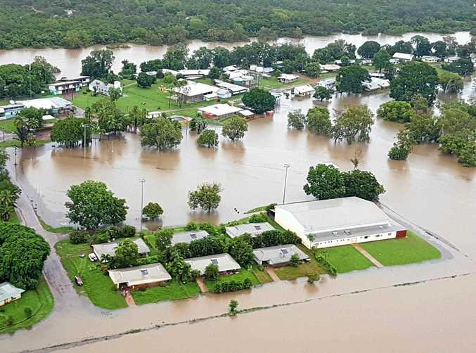 BIG WET: The community at Daly River has flooded, causing the evacuation of about 380 people.