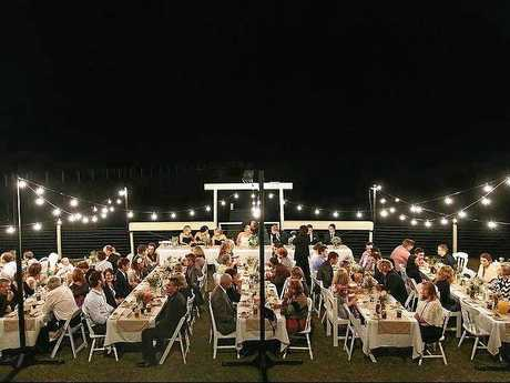 BEAUTIFUL: Marry Me Events created this stunning outdoor reception.