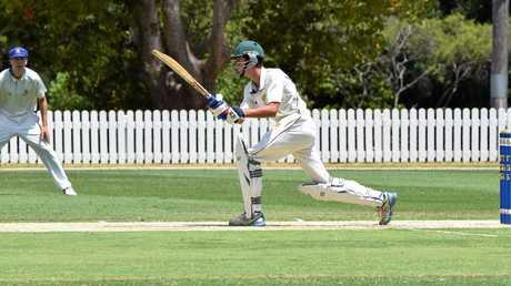 Downlands College batsmen Matthew Smith.