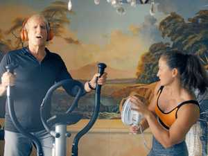 Gladstone athlete stars in commercial with ballad king