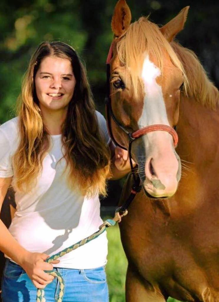 DEVASTATING: Maleny teen, Serena Stanley, passed away in a horse riding incident at the weekend.
