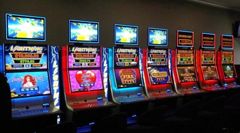 Pokie machines