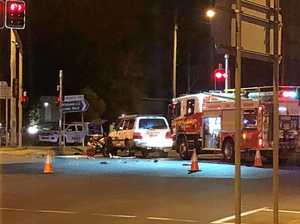 Plea for driver safety after serious Newtown crash