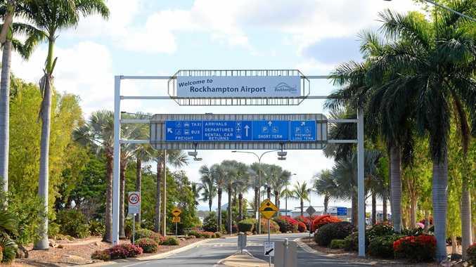 Airport entrance West Rockhampton.