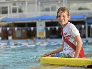 Confidence boost for keen swimmer in lifesaving program