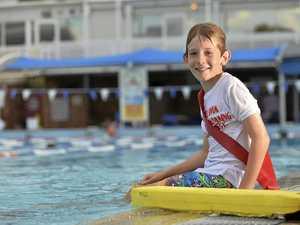 Confidence boost for keen swimmer in lifesaving program
