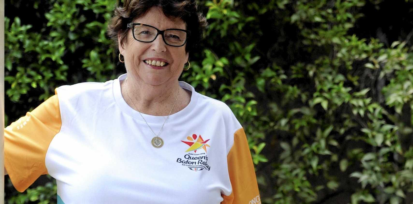HIGH HONOUR: Grafton netball's Cathy Walls will be a baton bearer in Coffs Harbour.