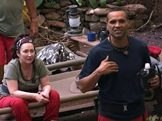 Anthony Mundine opens up to his camp-mates about experiencing racism.
