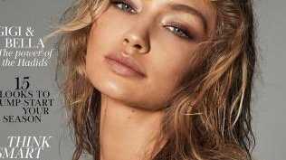 Gigi's cover. Picture: Vogue