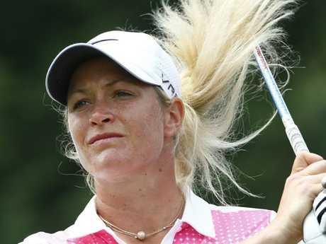 LPGA star Suzann Pettersen. Picture: Michael Klein.