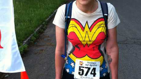 Colleen Kelly Alexander completed the Superhero Half Marathon just 10 months after the accident.
