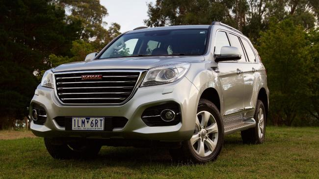 Haval's facelifted H9 seven-seat SUV is the bargain buy of the class. Picture: Supplied.