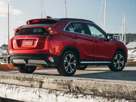 The Eclipse Cross uses as little as 7.3 litres/100km. Picture: Supplied.