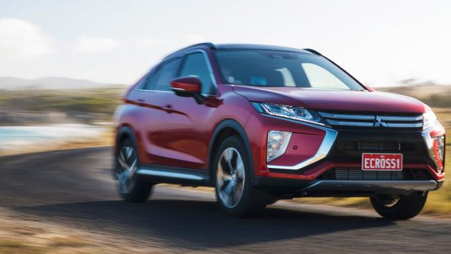 Ride height is the only thing restricting the Eclipse Cross all-wheel drive off-road. Picture: Supplied.