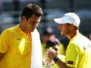 'Respect Lleyton': Karl slams Tomic for Hewitt serve