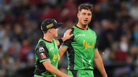 Marcus Stoinis (right) is certain to attract interest from rivals. Pic: Getty Images
