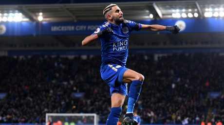 Riyad Mahrez of Leicester City.