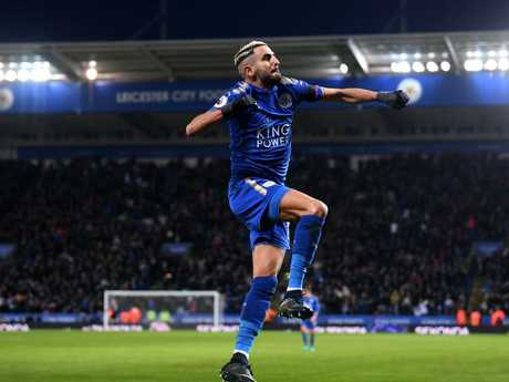 Riyad Mahrez of Leicester City.