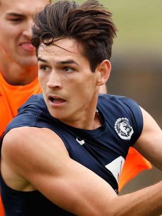 Zac Fisher is another of the Blues' young brigade. Pic: Getty Images