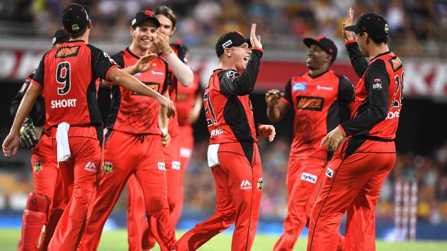 Melbourne Renegades are in sparkling form ahead of their BBL semifinal.