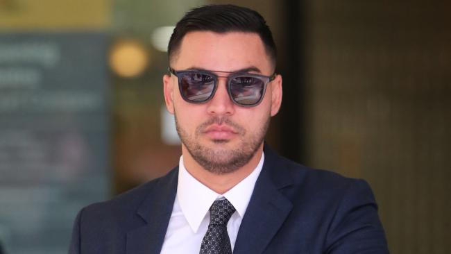 Salim Mehajer last year at the Sydney Downing Centre where he will face a special hearing on Wednesday over an assault charge. Picture: John Grainger.