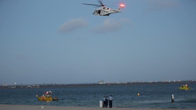 A large scale search was carried out. Picture: Christian Gilles.