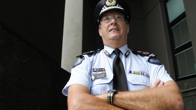 Police Commissioner Ian Stewart's wife has traffic fine torn up