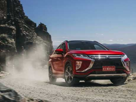 The Mitsubishi Eclipse Cross Exceed all-wheel-drive is $38,500 plus on-roads. Picture: Supplied