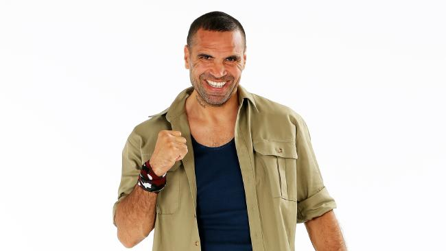 Anthony Mundine has opened up to his fellow contestants about being subjcted to racism.