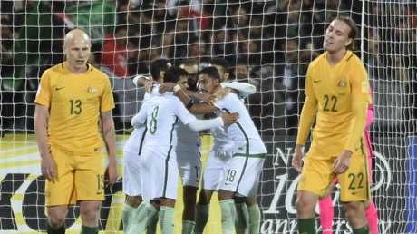Saudi Arabian players impressed against the Socceroos.