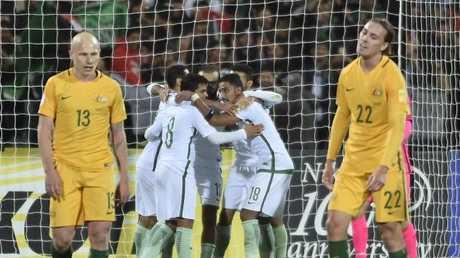 Saudi Arabian players impressed against the Socceroos.