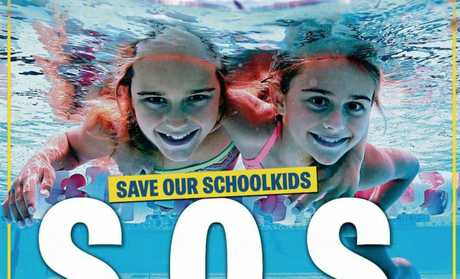 News' Queensland newspapers and websites have joined an unprecedented campaign calling for swimming lessons in all Queensland schools.
