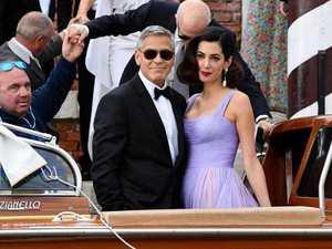'I got her email address': How George met Amal