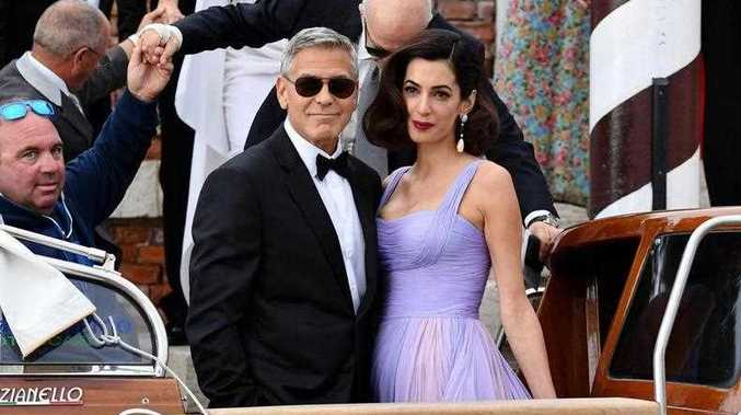 George Clooney has detailed his first meeting with Amal for the first time