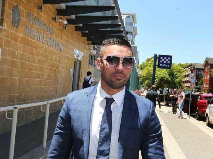 Former Auburn Deputy Mayor Salim Mehajer leaves the Burwood Local Court in Sydney,