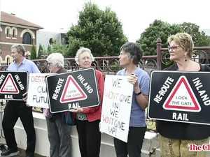 Inland Rail protest