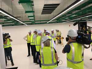 Turnbull tours landmark Pulse Data Centre in Toowoomba