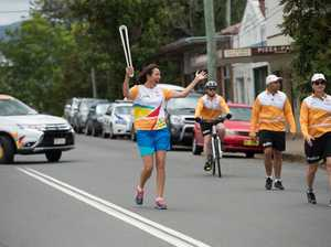 Queen's Baton Relay in Bellingen