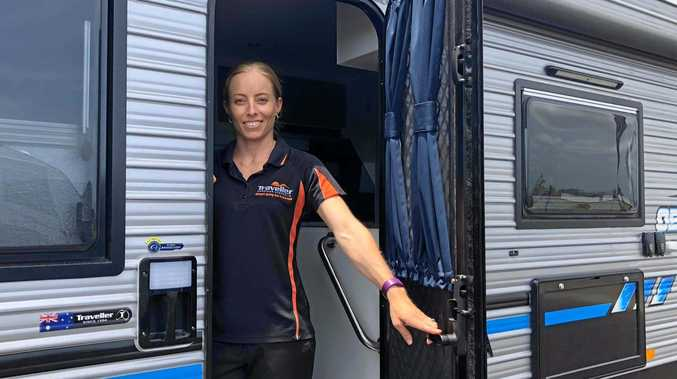 Director of Tullmack Caravans, Trudi Jensen, is excited about the company's move to a bigger premises at Paget.