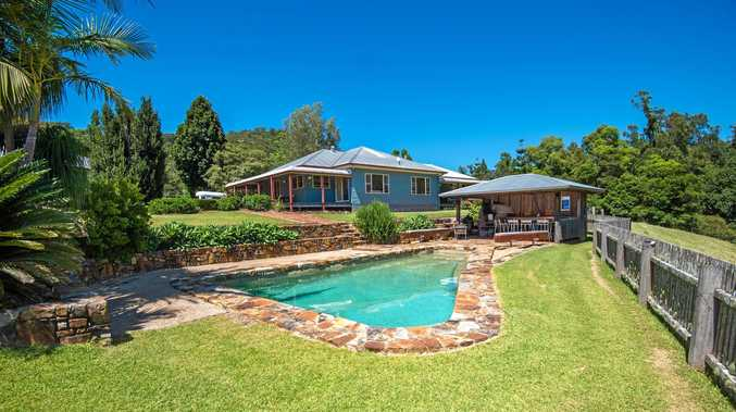 This stunning Orara home comes with a fabulous outdoor entertaining area.